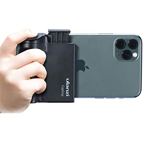 PICTRON Phone Tripod Mount with Remote Cell Phone Tripod Adapter Grip...