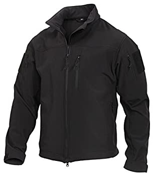 Rothco Stealth Ops Soft Shell Tactical Jacket L Black