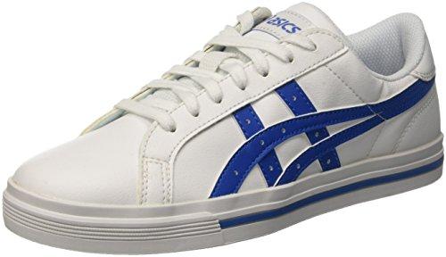 ASICS Tempo, Zapatillas de Gimnasia Hombre, Blanco White Blue Classic, 37 EU