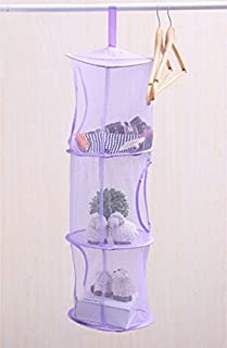 ANGELS--New Foldable Three Layer Basket Laundry Toys Baskets Storage Hanging 3 Colors Y