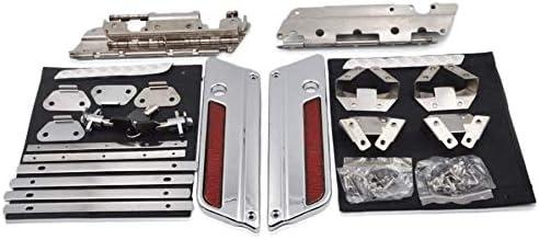 Large-scale sale ZXMOTO Saddlebag Hardware Kit Keys Locks La Ranking integrated 1st place