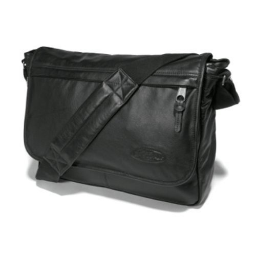 Eastpak Delegate Black Leather : tout en cuir