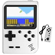 Handheld Game Console, Molyhood Portable Retro Game Player, 2.8-inch display Built in 400 Classical ...