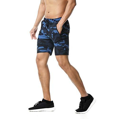 2021 Nouvelle Version de Shorts de Sport pour Hommes, entraînement de Basket-Ball de Fitness pour Sports Musculaires pour Hommes