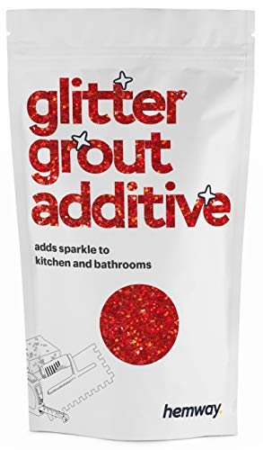 Hemway | Glitter Grout Additive - Red Holographic / 100g