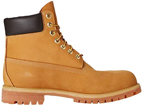 Timberland Heritage 6 Inch Premium Waterproof, Men's Cold Lining Ankle Boots, Brown(Wheat ),16.5 UK (52 EU)
