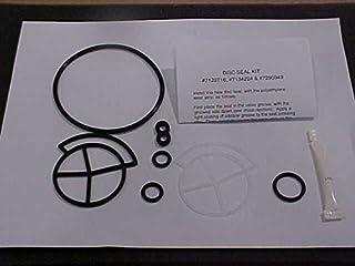 Kenmore 7129716 Water Softener Seal Kit Genuine Original Equipment Manufacturer (OEM) Part Black