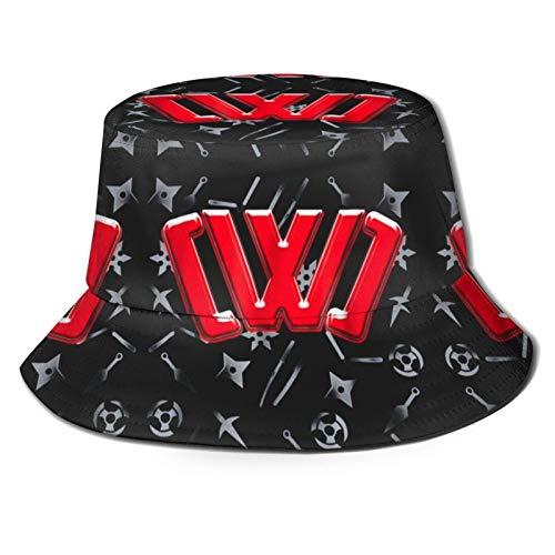 yoohome cw-c Infiltración Misión espía Ninja Daniel Top Secret Online 3ds Juegos Cubo Sombreros Tapas Plegable Merch POP Protección solar Adulto, Adolescente, Unisex