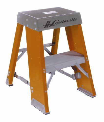 Astonishing Louisville Ladder Fy8003 300 Pound Duty Rating Fiberglass Step Stand Ladder 3 Foot By Louisville Ladder Pabps2019 Chair Design Images Pabps2019Com