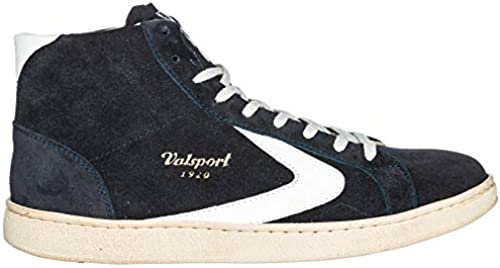Valsport 1920 Herren Tournament mid Turnschuhe high Blau Bianco