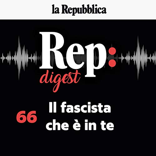 Il fascista che è in te audiobook cover art