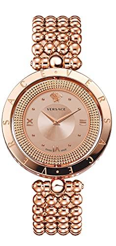 Versace EON VE79009 20 - Reloj de pulsera para mujer (33,6 mm), color oro rosa