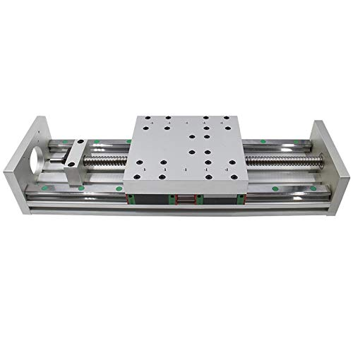 YANGDONG CHASH XYZ Axis Sliding Linear Platform SFU1605 Ball Screw + HGH20 Linear Guide, Suitable for CNC, 3D Printing, Engraving Machine Accessories (Size : 400mm)