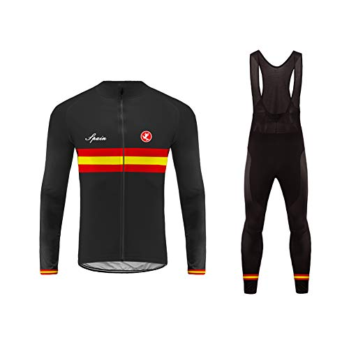 Future Sports Uglyfrog MTB Invierno Termo Maillot de Ciclismo Hombre Mangas Largas...