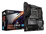 GIGABYTE Z590 AORUS PRO AX (LGA 1200/Intel Z590/ATX/3x M.2/PCIe 4.0/USB 3.2 Gen2X2 Type-C/Intel WiFi 6/2.5GbE LAN/Gaming Motherboard)