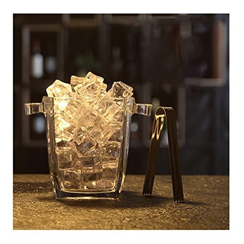 Cubitera Utensilios de Bar Bar KTV Vidrio Cubo de Hielo Cubo de Hielo Clip de Hielo Cerveza Cerveza Cerveza Cerveza Hogar Europeo de Hielo Cubo de champaña de Hielo 1000ml 1100ml Ice Bucket