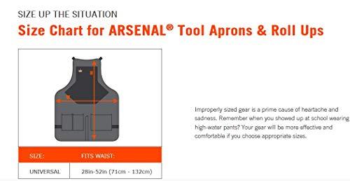 Ergodyne Arsenal 570016-pocket Tablier, gris, taille unique