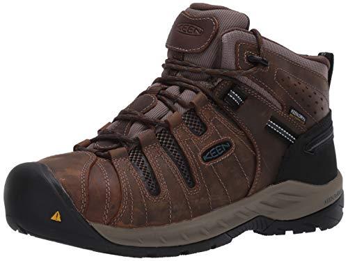 KEEN Utility Men's Construction Shoe, Cascade Brown/Orion...
