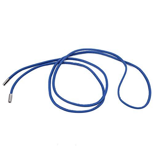 Yeucan - Cinturón de piel sintética con cordón de piel sintética para...