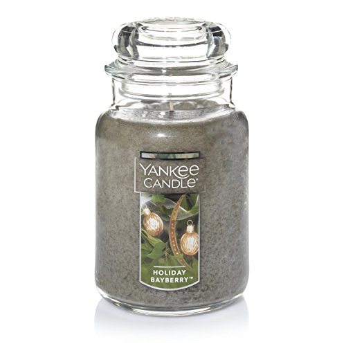 Yankee Candle Holiday Bayberry Scented Premium Paraffin Grade Candle Wax with up to 150 Hour Burn Time, Large Jar