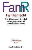 Familienrecht: Rechtsstand: 1. Januar 2021