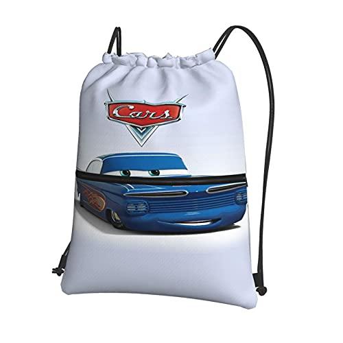 Disney Cars Lightning McQueen - Mochila con cordón para niños