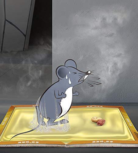 Hao-zhuokun Trampas para Ratones,trampas para Ratas,Tablas Adhesivas,trampas de Pegamento para Ratas,para Interiores y Exteriores para el hogar,la Cocina,el jardín,el almacén,los Insectos (10 Piezas)