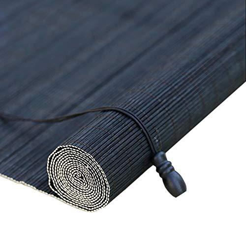 JIAYUAN Bamboe Rolgordijn Slaapkamer Rolgordijnen - Ramen Bamboe Blinde Zonneschaduw, 85/105/125/135cm Brede Romeinse tinten