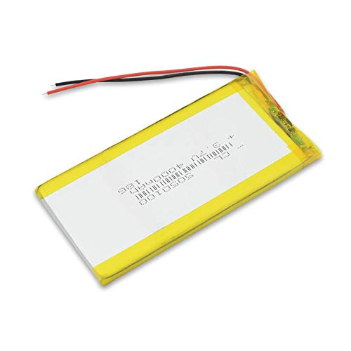 wangxiaoping 3766125 3.7V 4000mAh Replacement Li-Po Lithium Lithium Battery Li-polymer Battery Replacement For Tablet DVD E-book-3.7V_2x Battery