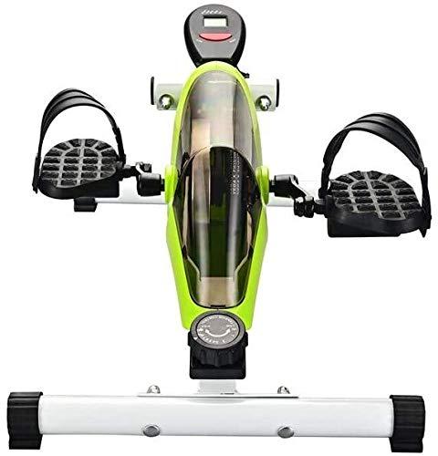 Portable Sous Bureau de vélo stationnaire Mini vélo d'exercice avec résistance ajustable, vous maintient concentré, améliore la productivité et brûle des calories à votre domicile ou sur un bureau dan