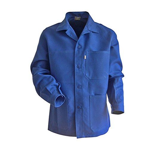 LMA 200241 PLANTOIR Veste à Boutons Col Chevalier, Bleu Bugatti, Taille 5