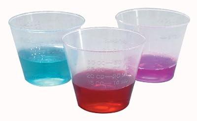 1 Oz. Plastic Medicine Cups Dynarex 1fl. Oz. Polypropylene Plastic Medicine Cups, Case of 5000