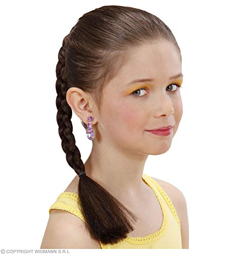 Widmann Hair Extension Plait Child - Brown