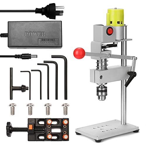 Taladro inalámbrico Máquina de perforación de taladro de banco Mini Micro Mini Máquina de perforación Máquina de madera Multifuncional Taladro eléctrico Bricolaje DIY Puncher preciso Por byolpmkk