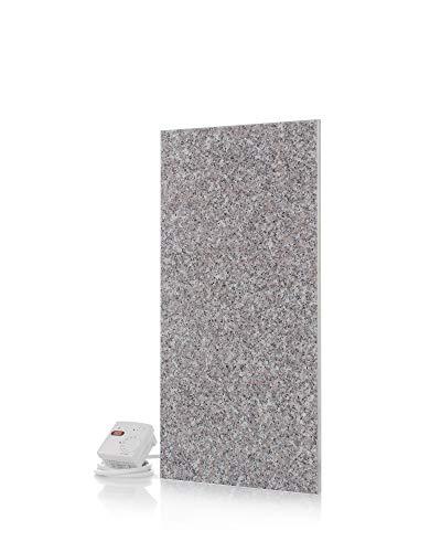 Magma® Naturstein-Infrarotheizung Granit 400 - Deutscher Hersteller seit 1992 - Magmaheizung mit 10 Jahren Garantie (Granit grau-beige)