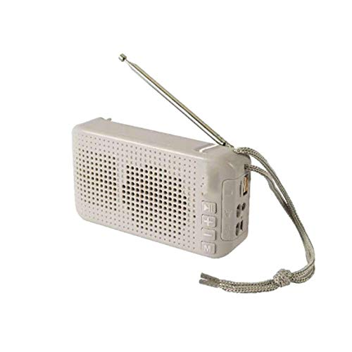 Altavoz Bluetooth inalámbrico Solar Deportes al Aire Libre Linterna portátil Radio de Antena FM