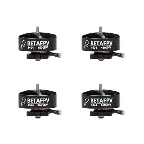 BETAFPV 4pcs 1404 4500KV Brushless Motor 4S FPV RC Motor for F4 AIO 20A Toothpick Flight Controller...