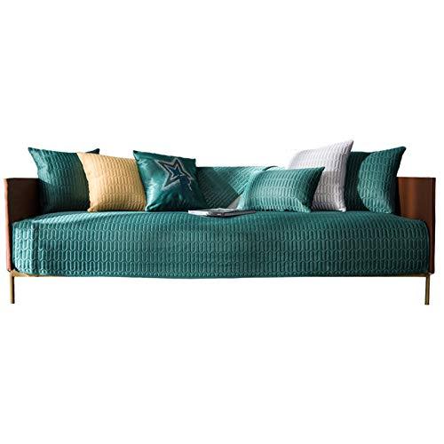 Suave Y Grueso Del Sofá De La Cubierta Antideslizante de látex cojín del sofá de lujo for mascotas luz del amortiguador del sofá sensación fresca de seda del hielo del amortiguador del sofá del respal