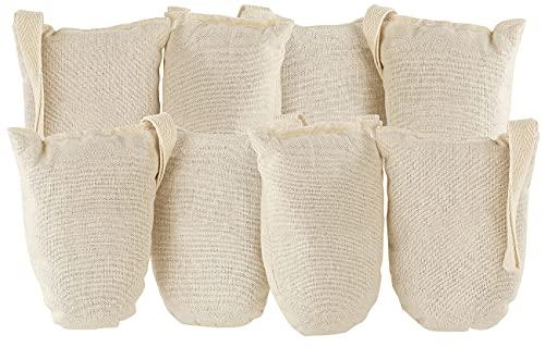 Newgen Medicals Schuherfrischer: 8er-Set ökologische Schuh-Erfrischer aus Baumwolle und Zedernholz (Schuhdeos)