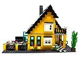Modbrix Einfamilienhaus mit Garten, Konstruktionsspielzeug mit 458 Klemmbausteinen