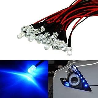 iJDMTOY (20) Ultra Blue 12V LED Emitter Lights For Headlights Daytime Running Lights Angel Eyes Fog Retrofit DIY use