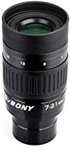 SVBONY SV135 Telescope Eyepiece Zoom 7 to 21mm 1.25 Inch Zoom Eyepiece Fully multi Coated 6 Element 4 Group Zoom Lens Telescope Accessory for Astronomic Telescopes