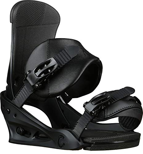 Burton Custom Snowboard Bindings Black Matte Sz L