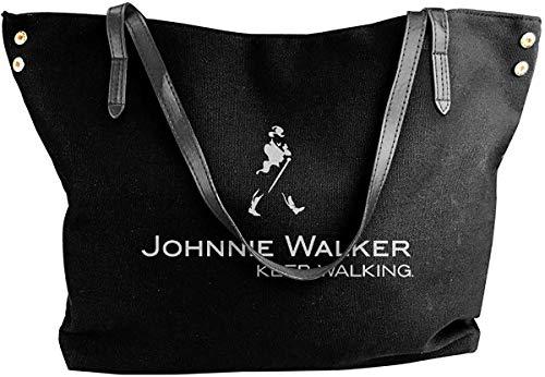 gxianyuyib Damen Handtasche Johnnie Walker Logo Tote Schultertaschen