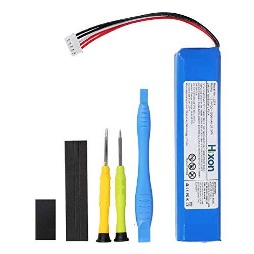 JBL Xtreme Replaceable Battery Hixon 5000mAh 7.4V Li-Polymer Replacement Battery for JBL Xtreme JBL GSP0931134 Speaker (1pcs Batteries + Set of Tools)