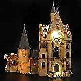 Hosdiy Luci LED Light Kit Compatibile con Lego 75948 Harry Potter La Torre dell'Orologio di Hogwarts - Luci LED Kit ( Solo Luci, Senza Lego Modello )
