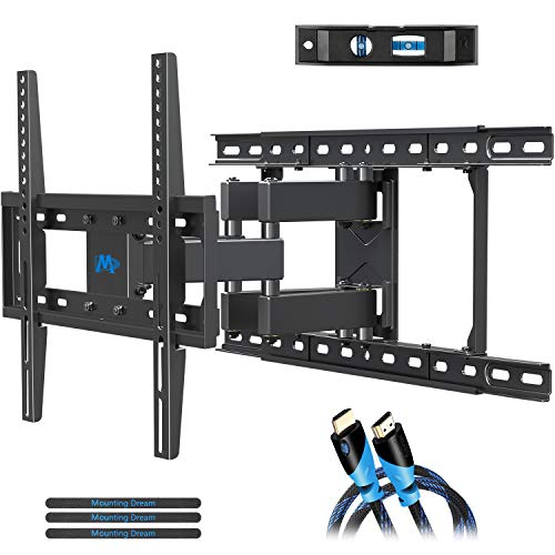 Cheap Mounting Dream TV Mount Full Motion TV Wall Mounts for 26-55 Inch Flat Screen TV, Wall Mount T...