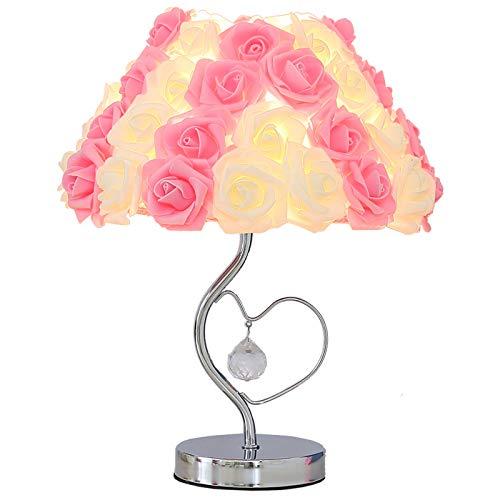 Hochzeit Schlafzimmer dekoriert Bettkopf Prinzessin Zimmer romantische warme rose