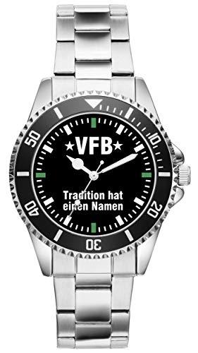 VfB Tradition Geschenk Artikel Idee Fan Uhr 2550