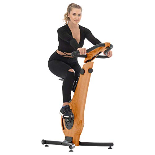 NOHrD Indoor Exercise Bike - Cherry
